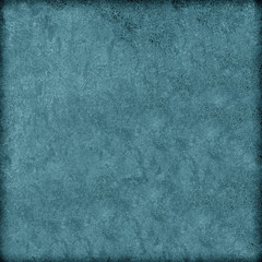 Turquoise grunge background. The texture of the old surface. Abstract pattern of cracks, scuffs, dust