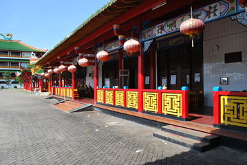 Traditional temple architecture of china
