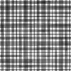 Stripe plaid watercolor seamless pattern