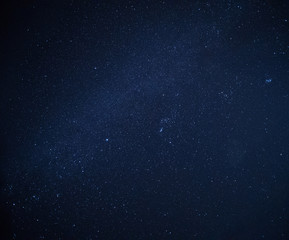 Stars and night sky background