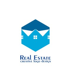 Real estate logo. house and home logo, vector icons.