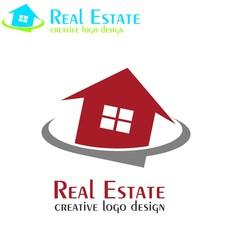 Real estate logo. house vector icons.