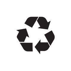 recycle filled vector icon. Modern simple isolated sign. Pixel perfect vector  illustration for logo, website, mobile app and other designs