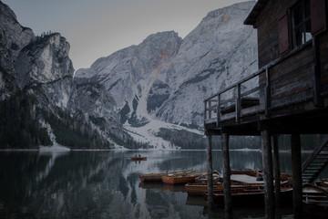 Lake in the Italian Alps