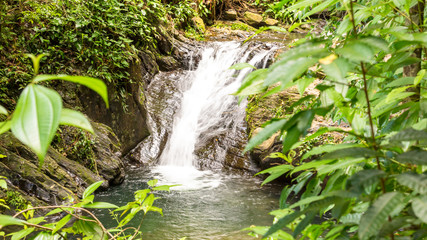 Beautiful Waterfall in Belize, Central America.