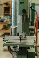 Vertical cutter machine at workshop