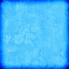 Blue grunge background. The texture of the old surface. Abstract pattern of cracks, scuffs, dust