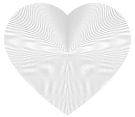 design element icon logo hearts fine lines symbol02