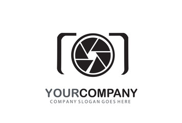 Camera Logo Design Silhouette