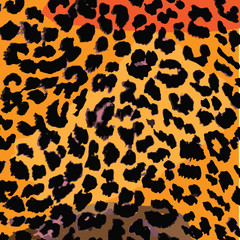 Leopard Animal Skin Pattern