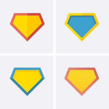 Superhero logo Icon