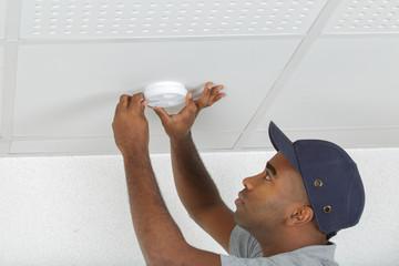 installation of smoke detector