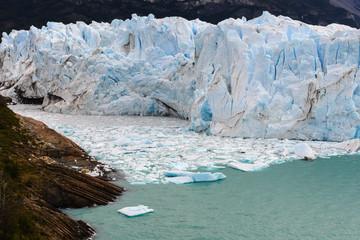 Perito Moreno glacier in Los Glaciares National Park, Argentina