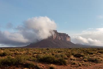 cloudy mesa