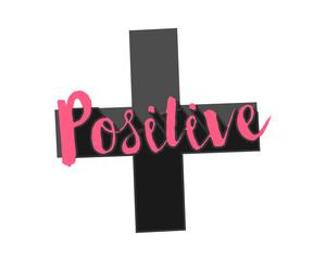 positive icon script typography typographic creative writing text image 4