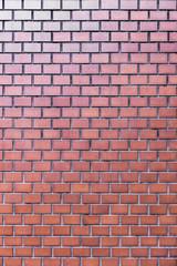 レンガ調のタイル壁