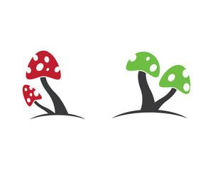 Mushroom vector icon