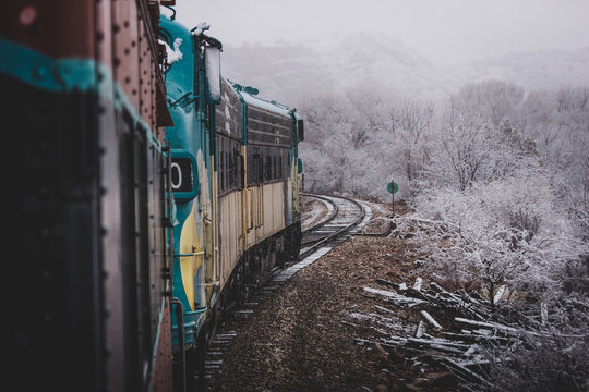 Snowy Verde Canyon Railroad