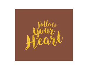 follow heart alphabet typography font text image vector icon 2