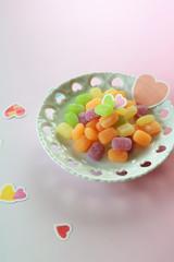 かわいいグミのお菓子