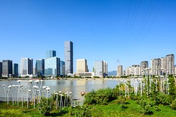 Urban construction group in Fuzhou, China