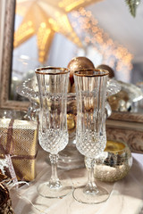 Drinking glass./Alcohol, Champagne, Chinese New Year, Christmas, Circle