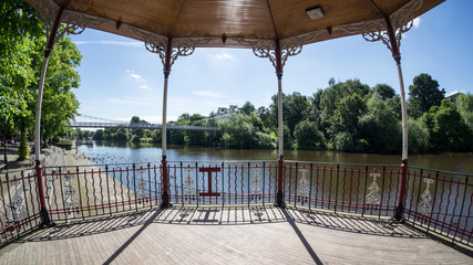 Bandstand by the River Dee