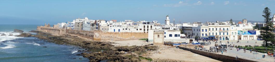 City wall and coast Fototapete
