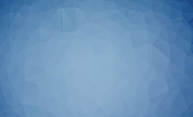 Vector Soft blue color Polygon Abstract modern Polygonal Geometric Triangle Background.