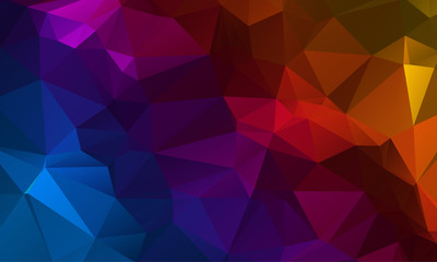 Vector Dark color Polygon Abstract modern Polygonal Geometric Triangle Background.