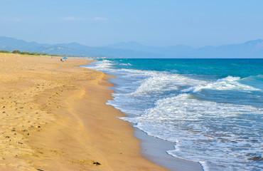 Kaifas beach, Greece.