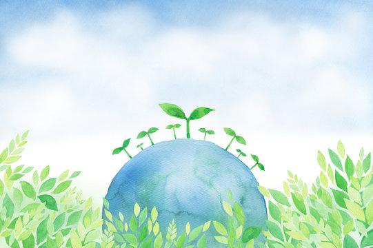 地球 グリーン