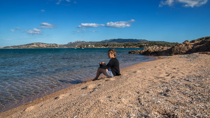 Motorhome holiday trip to Sardinia in October