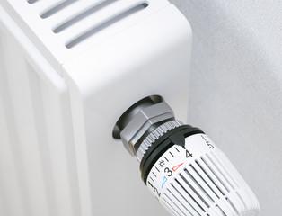 Hor water radiator closeup - 3D Rendering