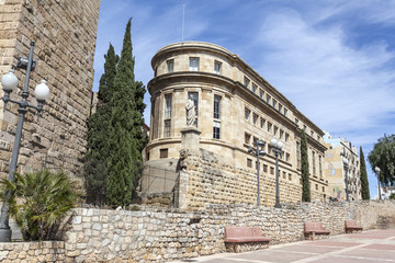 Architecture, National Archaeological Museum of Tarragona, Catalonia. Spain.