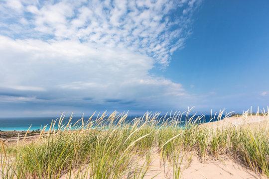 Sleeping Bear Dunes National Lakeshore in Michigan, USA