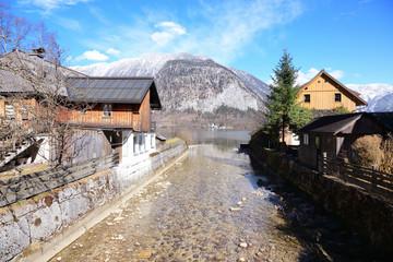 Hallstatt, beautiful small village in Austria, Europe