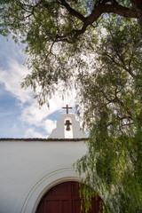 Tipica chiesa bianca di Lanzarote, Isole Canarie