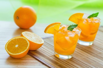 Ice Cold Orange Juice