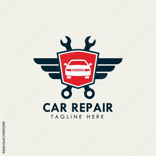 """car Repair Service And Garage Logo Template"" Stock Image"