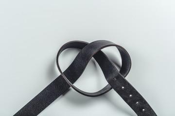 fashionable men's leather belt