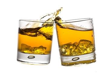 Toasting Whiskey Glasses