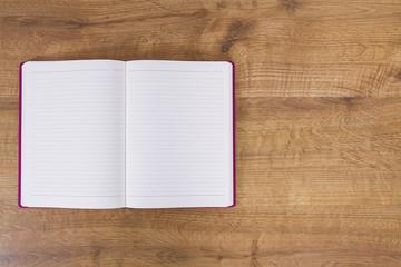 boş defter sayfaları