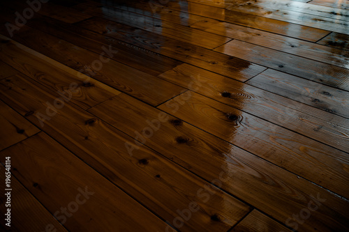 Dark Varnished Wooden Floor Stock Photo And Royalty Free Images On