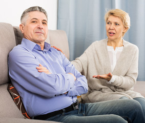 Mature couple find out relationship