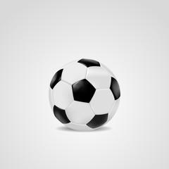 Football soccer ball vector illustration.