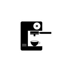 Coffee machine black icon