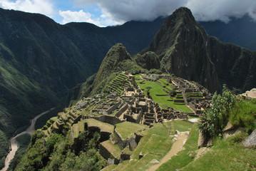 Landscape in Machu Picchu