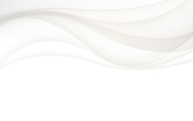 Abstract gray background with wave. Vector illustration