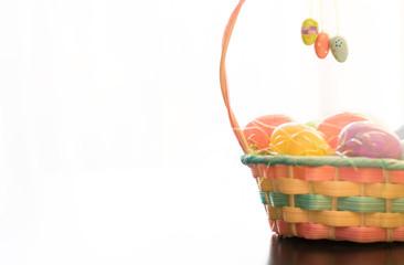 Easter Bunny Basket Decoration